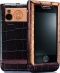 Мобильный телефон Versace Unique Brown alligator, Brown PVD & gold