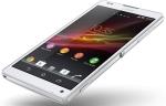 Мобильный телефон Sony Xperia ZL
