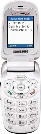 Мобильный телефон Samsung SCH-A630
